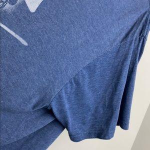 Star Wars Shirts - Star Wars Blue Darth Vader Comic Graphic T Shirt